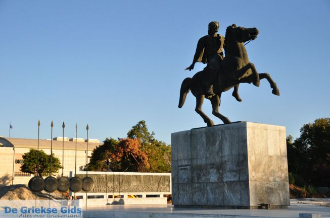 Alexander de Grote Thessaloniki